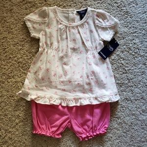 Chaps 2 piece outfit 18months